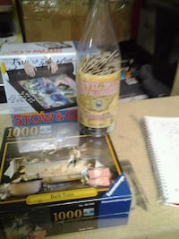 New in box in bottle puzzles and saver