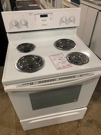 On Sale Whirlpool Electric Stove Oven Coil Top 220v #1275