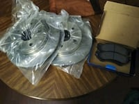 New Dodge ram or Durango front brakes and rotors New Castle