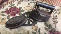 Old country iron set Northern Cambria, 15714