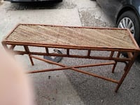 Wicker table good condition Newark