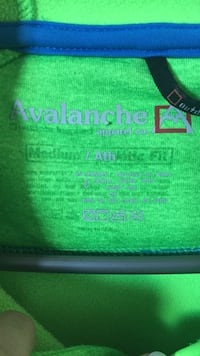 Green avalance textile West Lincoln