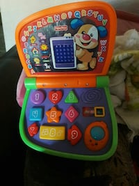 baby's orange and green Fisher-Price learning laptop Gustine, 95322