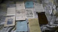 Vintage Masonic Document Collection Mississauga