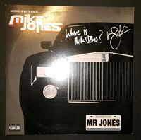 Mike Jones Autographed Record
