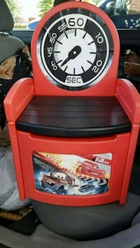 Disney Cars Toddler Storage chair