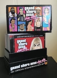 Grand Theft Auto: Vice City Official Soundtrack Box Set Gjerdrum, 2022