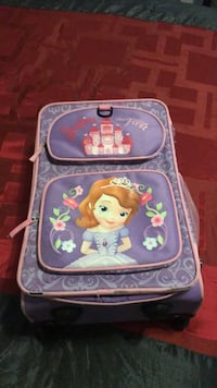 Sofia the first suitcase Atwater, 95301