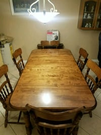 Have a beautiful dining room table for sale.  Leamington