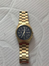 Gold Michael Kors Watch w/Navy Blue Face Washington, 20001