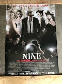 "Nine Movie Poster (40""x27"") Saint Charles, 63303"