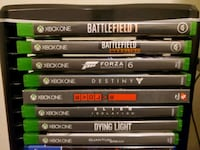 8 Xbox One Title Games  Franklin, 37067