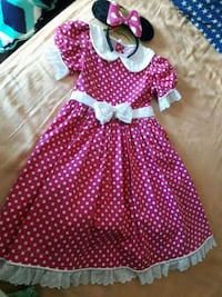 Minnie dress costume firm price  Irvine, 92620