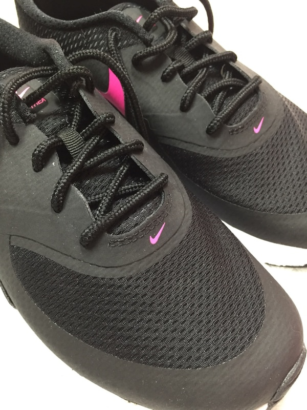 the best attitude 9fc89 56563 New with box nike air max thea size 3youth fits like women s size 5 black  and
