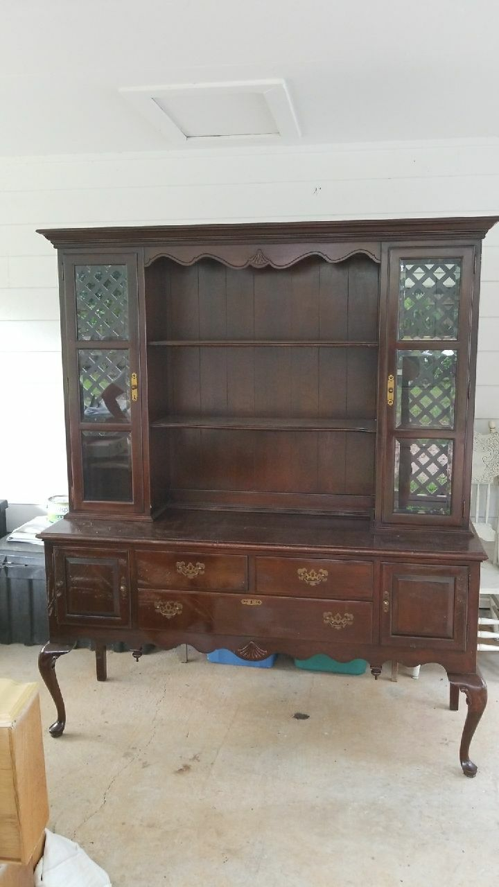 Gentil Used Ethan Allen Queen Anne Solid Cherry China Cabinet For Sale In Daphne    Letgo