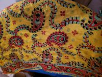 100% pure silk scarf and hand woven Pawtucket, 02861