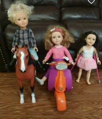American girl dolls and one journey Winnipeg, R3C 1A8