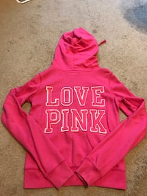 PINK Victoria Secret Full-zip Sweatshirt