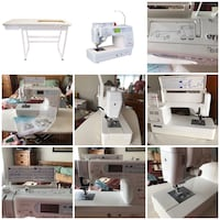 Janome Memory Craft 6600 sewing machine with table Danville, 61832