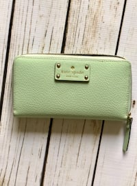 green leather Kate Spade wristlet Olney, 20832