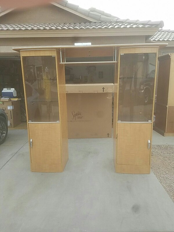 Used Ashley Furniture Entertainment Center For Sale In Surprise Letgo