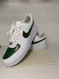 Gucci Monogram Custom Air Force Ones Size 9.5 US Port Coquitlam, V3C 6B9