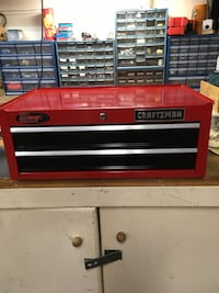 red and black Craftsman tool chest Burbank, 91504