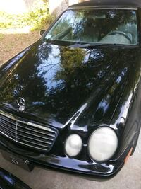 black Mercedes-Benz car Charlotte, 28206