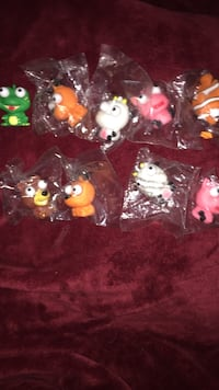Eye peepers rubber toys