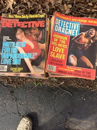 Assorted old detective magazines Fishkill, 12524