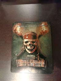 Pirates of the Carribean: Dead Man's Chest Steelbook