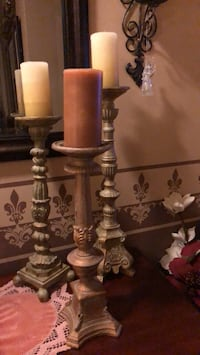 3 pilar candle holders with Candles  Phoenix, 85254