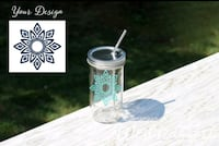 Custom Drinking tumbler with design or name  Mississauga, L5L 3A2