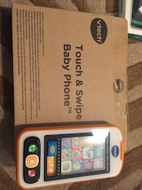 Brand new vtech touch and swipe baby phone  Hamilton, L8M 2B5