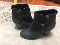 Real leather ankle boots 7 1/2. by desiigner vince camuto. El Cajon