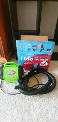 Fido Max1 dog dryer Fairfax, 22031