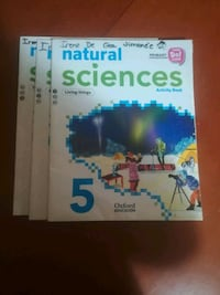 4 libros Natural Sciences Activity Book 5 ° primar Cehegín, 30430