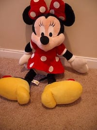 Authentic Walt Disney Large Minnie Mouse Plush Toy