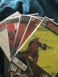 Deadpool mercs for money comics