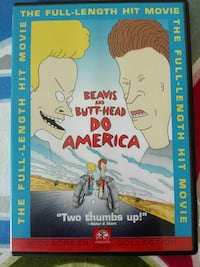 Beavis ve Butt-Head Do Amerika DVD kutusu