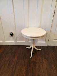 Off white side table