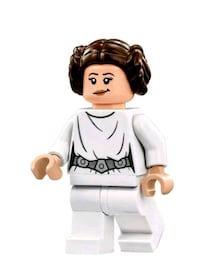 Figura star wars LEIA co.patibme Legoe 6415 km