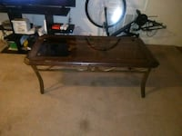 black and brown wooden table Tyler, 75701