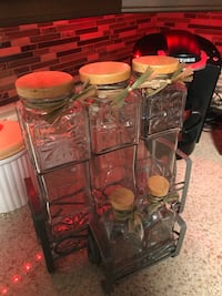 Glass containers for your kitchen counter  Brampton, L6V