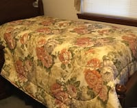 Floral Quilted Comforter-Queen Size Chattanooga, 37343