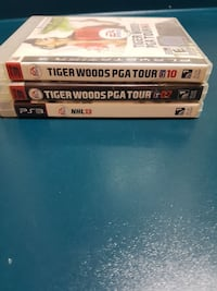 two assorted Sony PS3 game cases Lloydminster, S9V 0N1