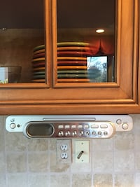 Under the cabinet TV/Radio/DVD/Clock Commerce Township, 48382