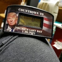 Funny battery operated countdown to trump's last day