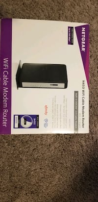 Netgear WiFi Cable Modem Router Sioux Falls, 57108