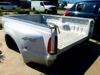 1999-2010 Ford F350 White Dually Long Wheel Base Truckbed